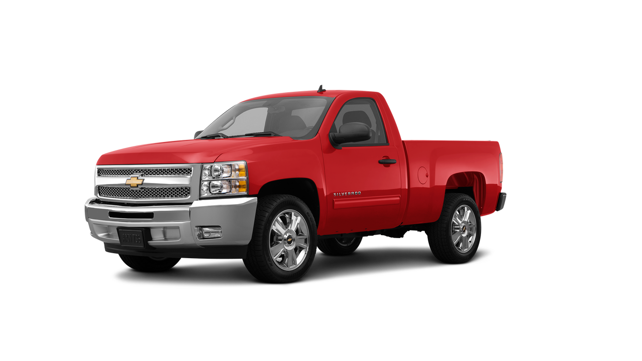 2013 Chevrolet Silverado 1500 Short Bed