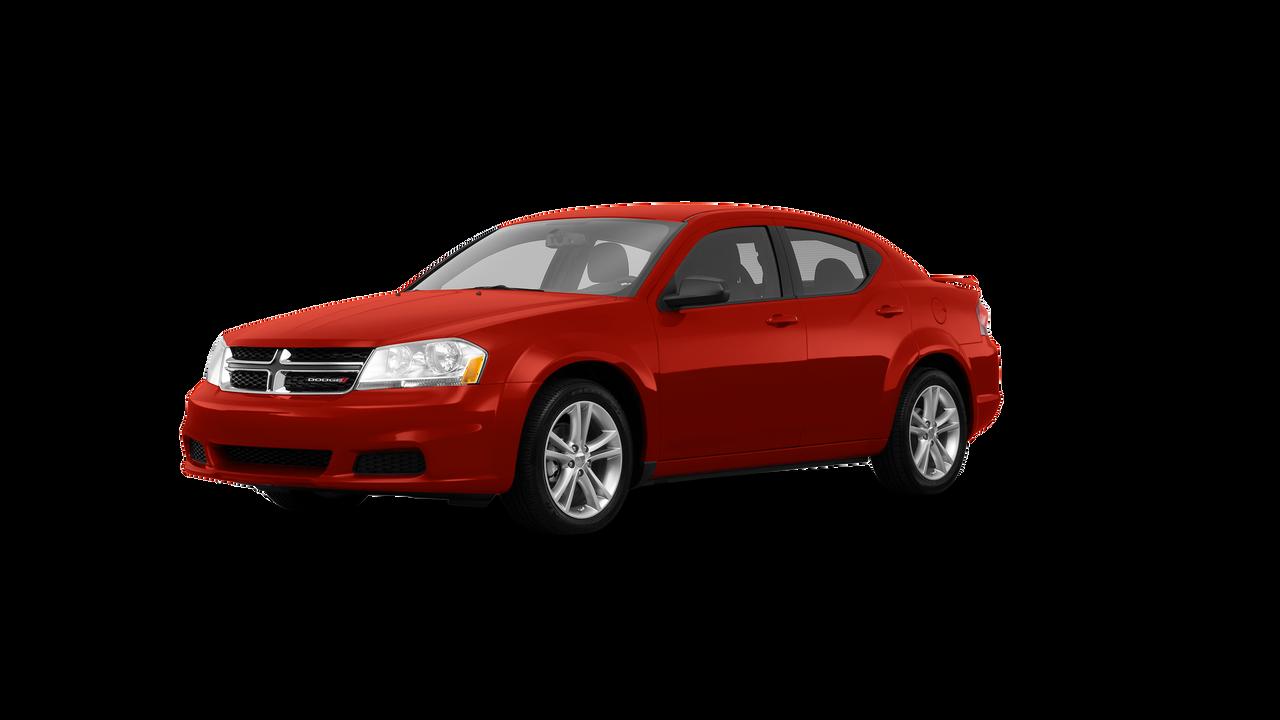 2013 Dodge Avenger 4dr Car