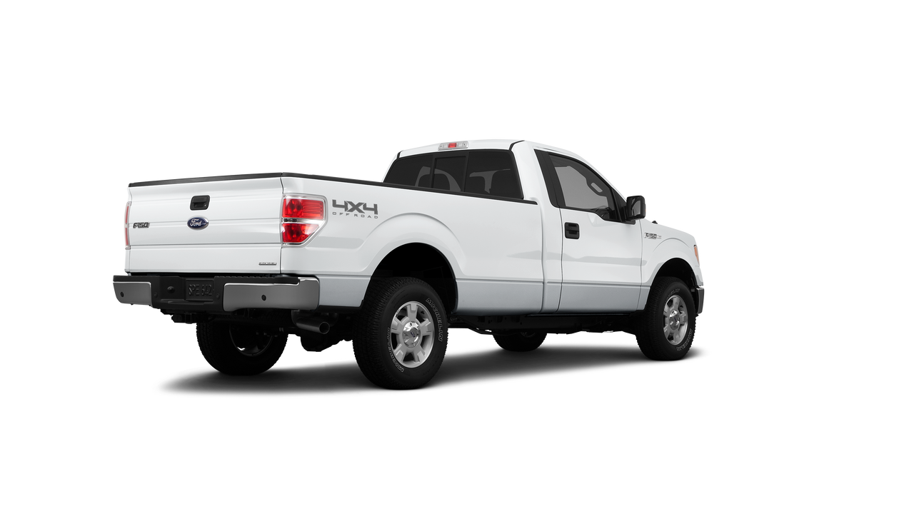 2012 Ford F-150 Standard Bed