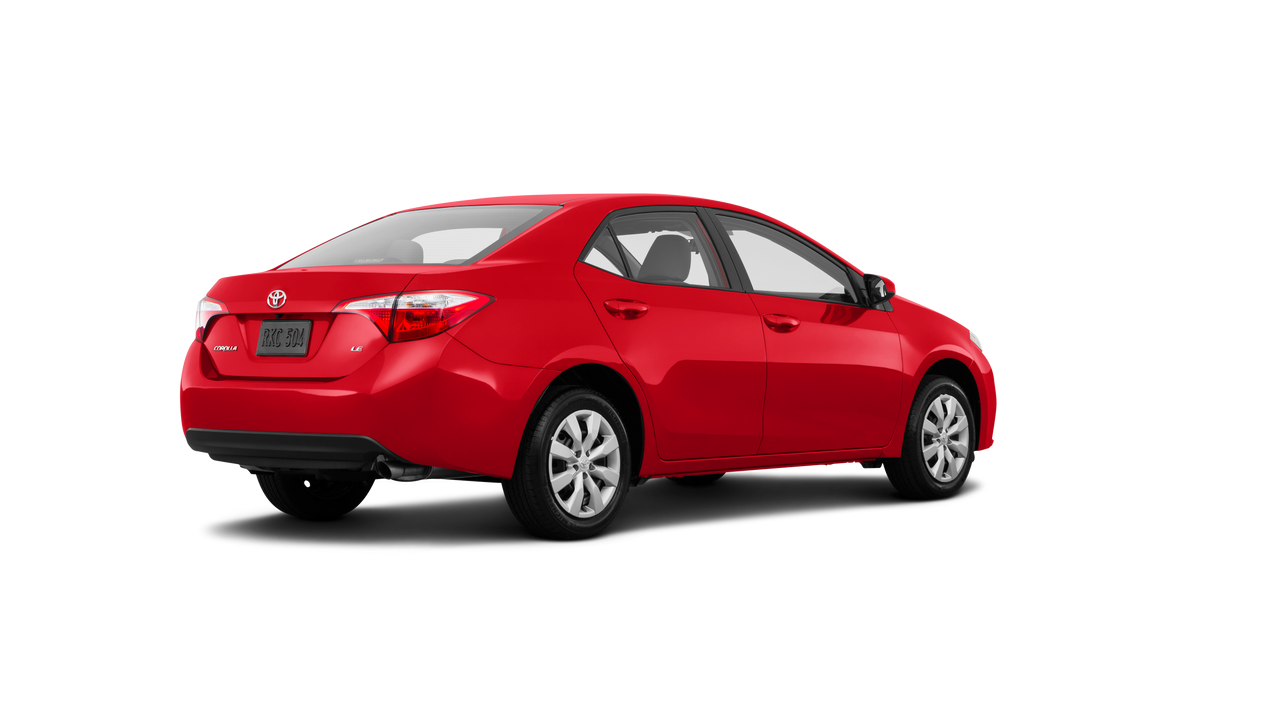 2016 Toyota Corolla 4D Sedan