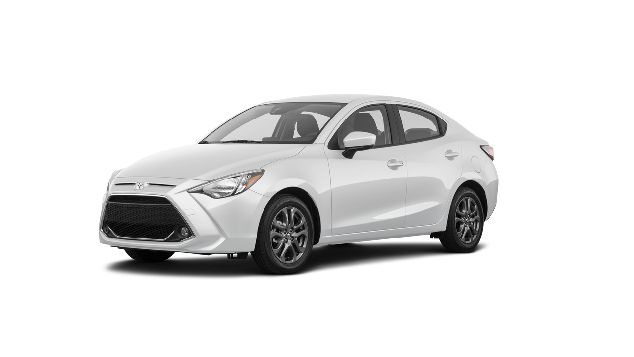 2019 Toyota Yaris 4D Sedan